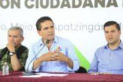 Coordinación entre gobiernos y sociedad para entregar buenos resultados: Silvano Aureoles