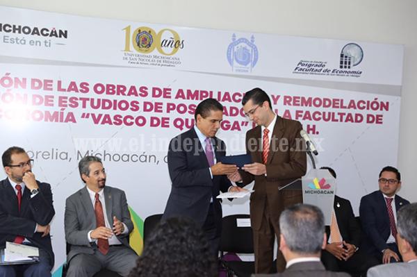 Llama Gobernador a concretar transferencia de tecnología para el desarrollo de Michoacán