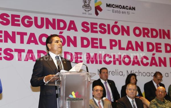 Michoacán tiene un Plan de Desarrollo innovador e incluyente: Silvano Aureoles