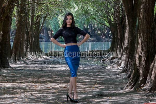 Katya García representará  al estado en concurso de belleza nacional