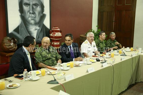 Revisa Grupo de Coordinación Michoacán estrategia de Mando Único en regiones