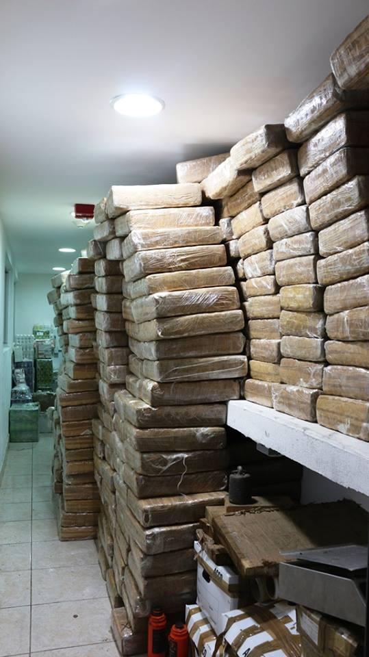 PGR asegura casi dos toneladas de marihuana en Nayarit