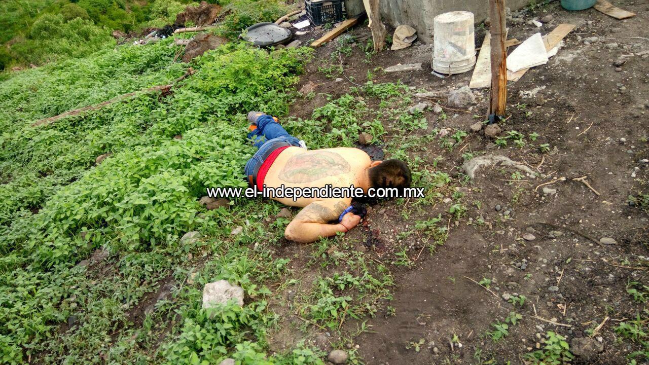 Ultiman a balazos a 2 hombres en la colonia Ampliación Bicentenario