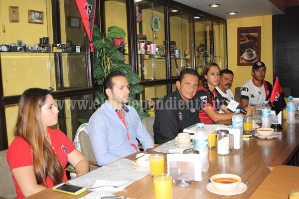Atlas Zamora presentó proyecto y convocó a jóvenes a integrarse a sus filas.