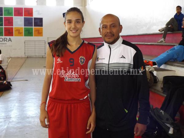 Regresaron orgullosos entrenador y basquetbolistas que participaron en Olimpiada Nacional.