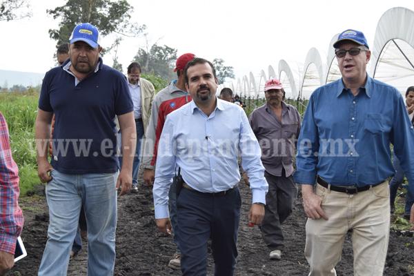 """""""Ixtlán se encuentra en vías del progreso, lograremos dar impulso a productores"""""""