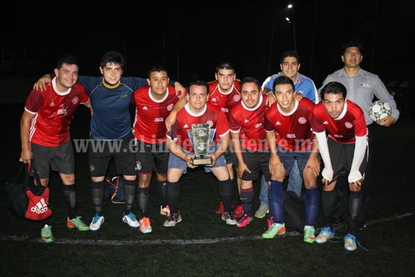Lazio en Primera Fuerza y Verace en Segunda Fuerza Campeones del Campeonato Corona Fut 7