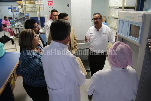 -Noemí Ramírez y Secretario de Salud Buscan gestionar casi 3 mdp para el Hospital General