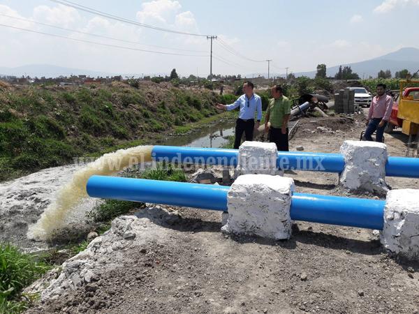 Con 2 cárcamos de bombeo evitarán inundaciones en zonas bajas de Zamora