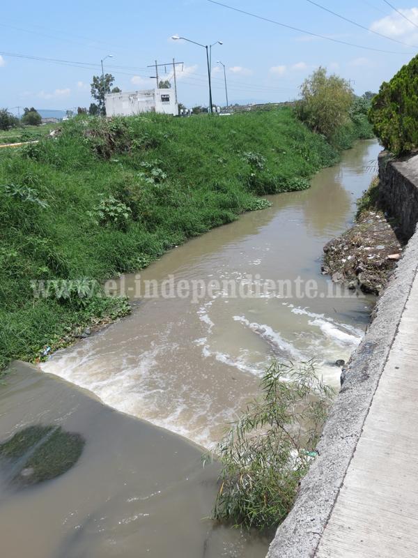 Más de 1 millón de pesos se invirtió en desazolve de drenes y canales
