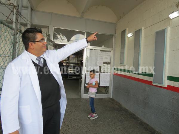 Rehabilitan y dan mantenimiento a Centro de Salud Niños Héroes
