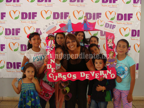Concluyen Curso de Verano del DIF Jacona