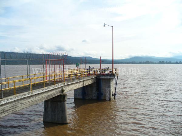 Presa de Urepetiro recuperó nivel con lluvias de último mes