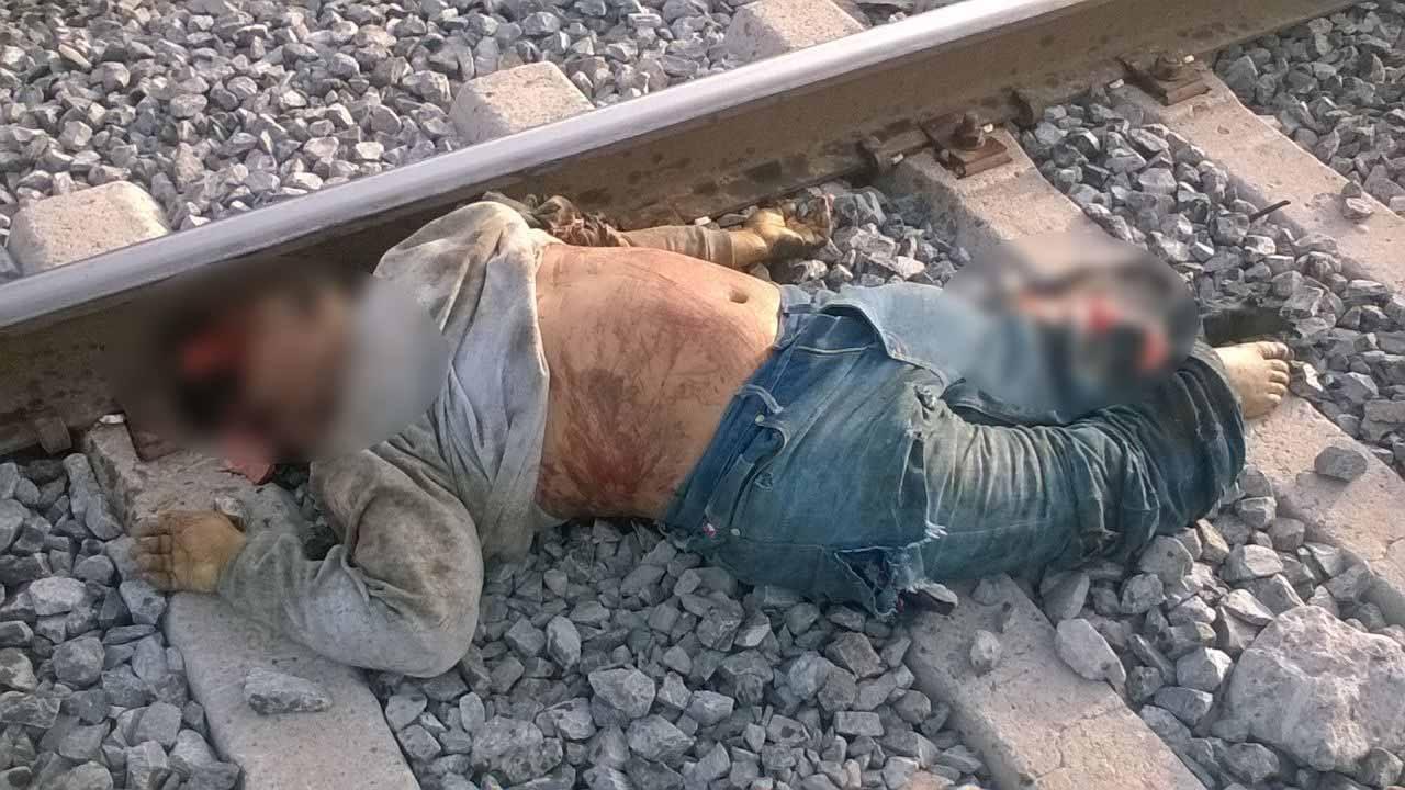 Muere destrozado por el tren en Vista Hermosa