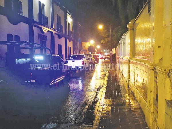 Hombre es asesinado en el Centro de Zamora