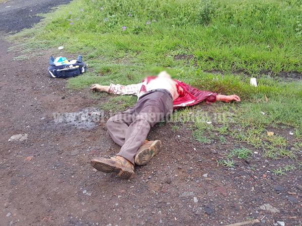 Identifican al hombre asesinado en el Libramiento Norte de Zamora