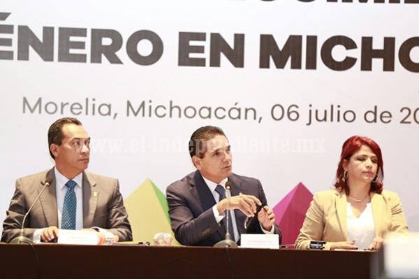 Atención a la alerta de género, tema central de mi Gobierno: Silvano Aureoles