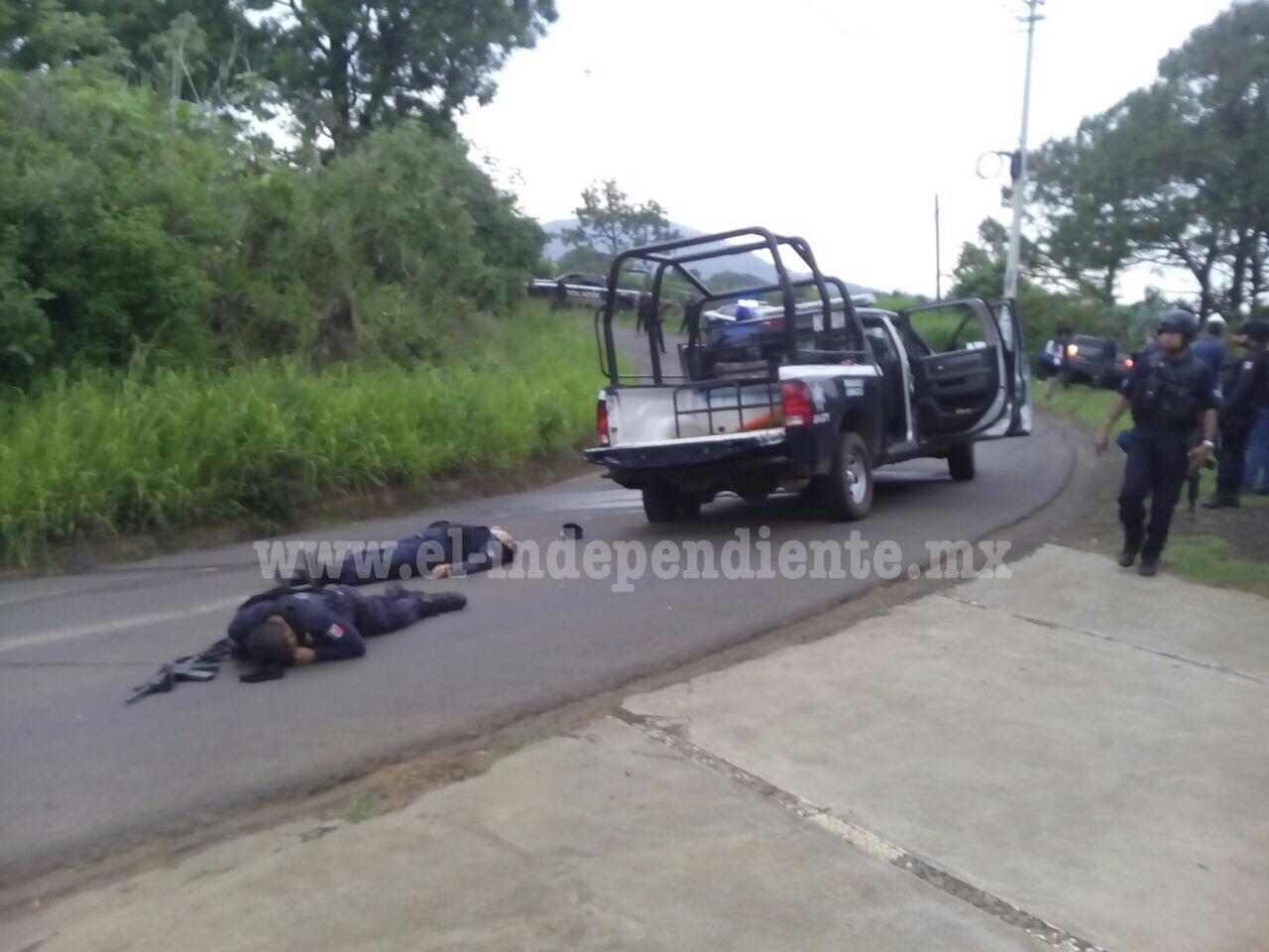 Emboscada contra policías de Ziracuaretiro deja dos agentes muertos y tres lesionados