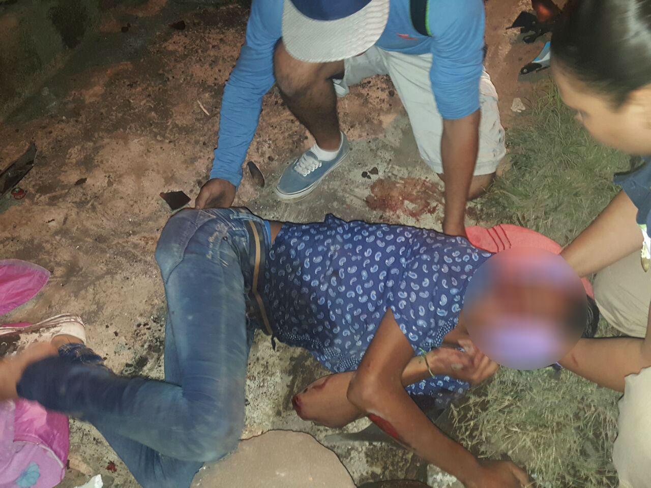 Dos menores lesionados al derrapar su motocicleta en Zamora