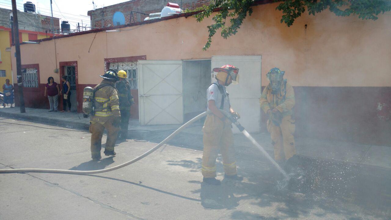 Conato de incendio moviliza a los rescatistas de Zamora