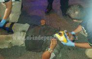 Joven es hospitalizado tras ser arrollado por un taxi