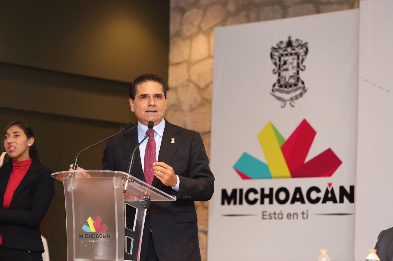 En Michoacán no nos rendimos hasta alcanzar la paz plena: Silvano Aureoles
