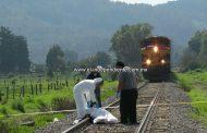 Hombre fallece arrollado por el tren, en Pátzcuaro
