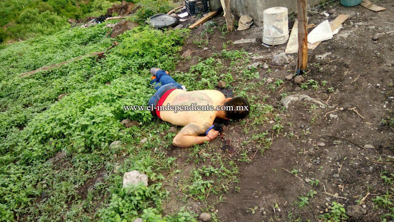 Identifican a los dos fallecidos a balazos que hubo en la colonia Ampliación Bicentenario