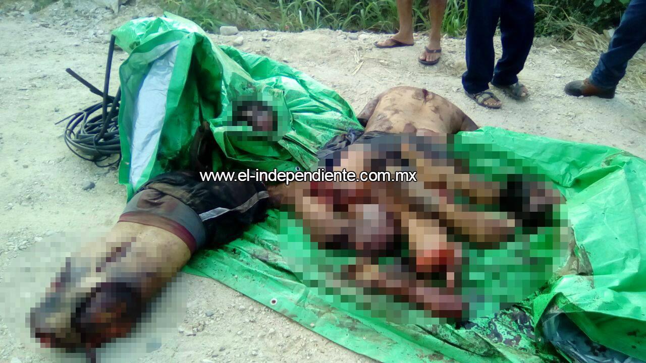 Hallan a dos jóvenes desmembrados en la carretera Acapulco-Zihuatanejo