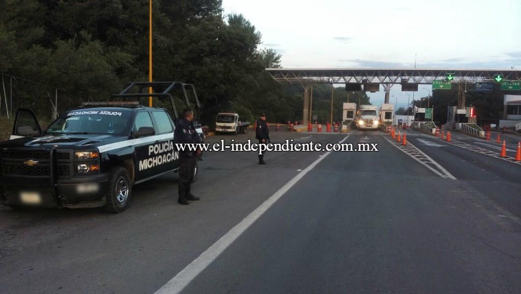 Refrenda SSP compromiso de garantizar el orden y la paz social en Michoacán.