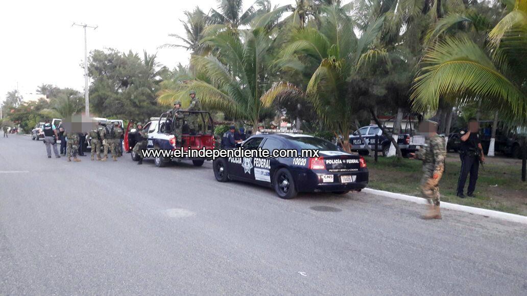 Ministeriales y gatilleros se enfrentan a balazos en 2 ocasiones, en Chuquiapan