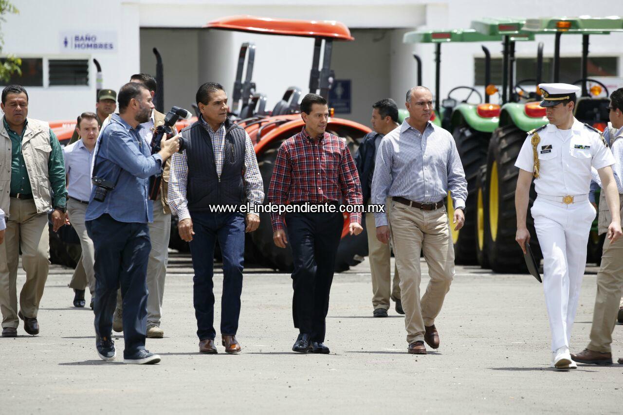 Fructifican gestiones de Silvano Aureoles con gobierno federal .
