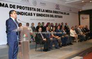 Compromete Gobernador respaldo y comunicación a síndicas y síndicos michoacanos