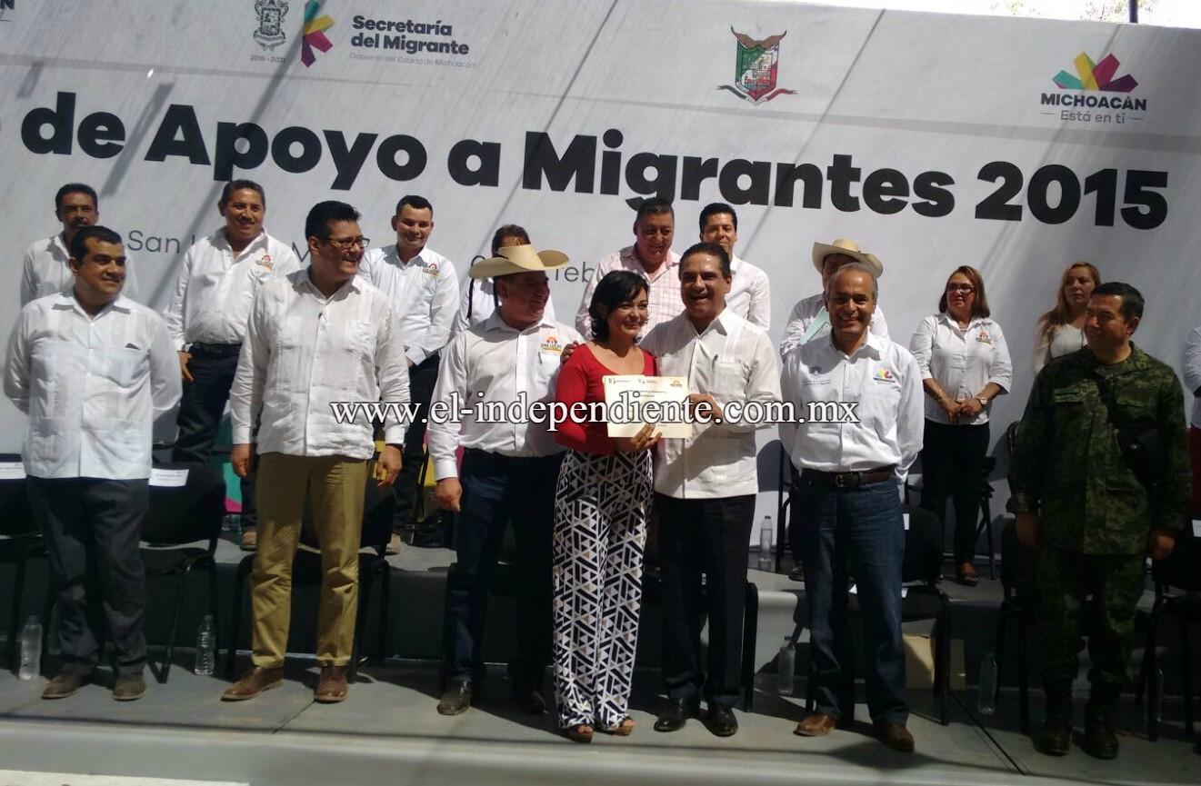 Jefas de familia, el 72% de beneficiarios del Fondo de Apoyo al Migrante