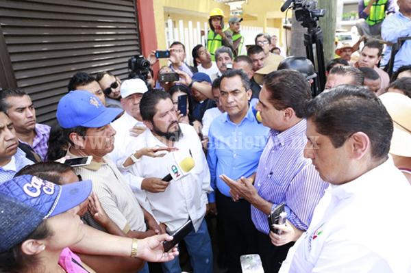 Continúa Silvano Aureoles diálogo con agremiados a la CNTE