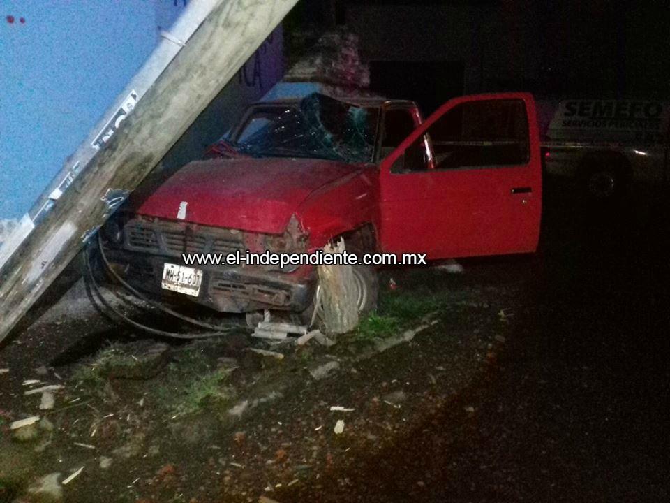 Zamorana fallece en accidente automovilístico en Tangancícuaro