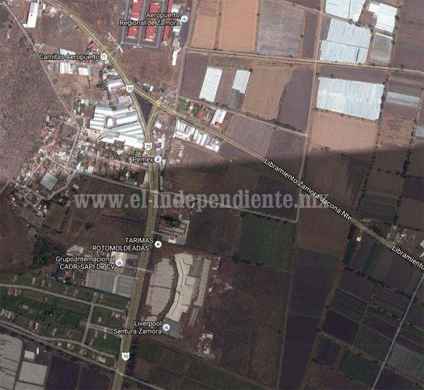 Autoriza SCT 15 mdp  para  glorietas en acceso norte de Zamora