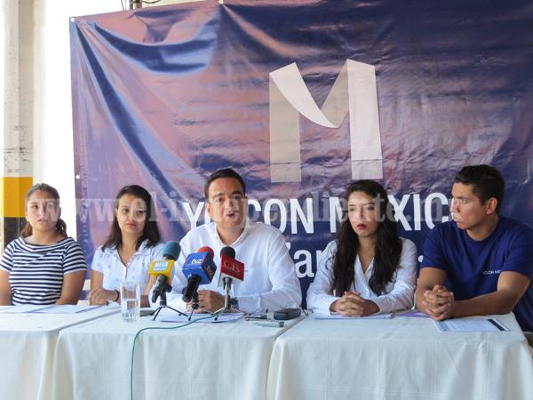 "Lanzan en Zamora la plataforma, ""Yo con México"""
