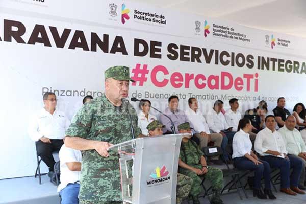 Michoacán, ejemplo de coordinación interinstitucional en materia de seguridad: Felipe Gurrola