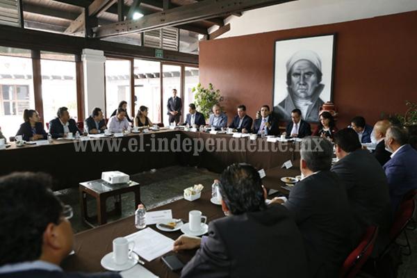 Se creará Consejo Estatal de Infraestructura: Silvano Aureoles