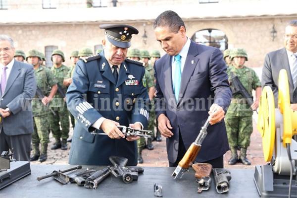 Alcanzará Michoacán la paz duradera y la estabilidad: Silvano Aureoles