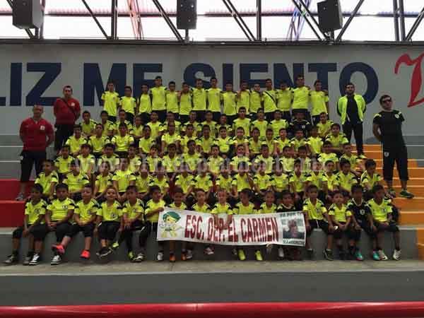 """Escuela Deportivo """"El Carmen"""" convoca a jóvenes a unirse a sus filas."""