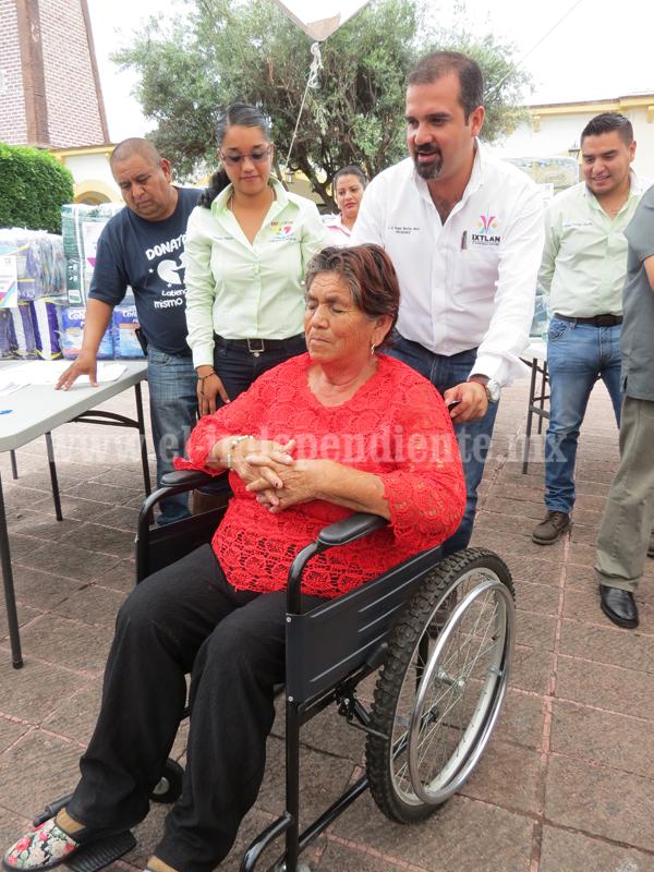 Personas con discapacidad comenzaron a recibir beneficios del Donatón