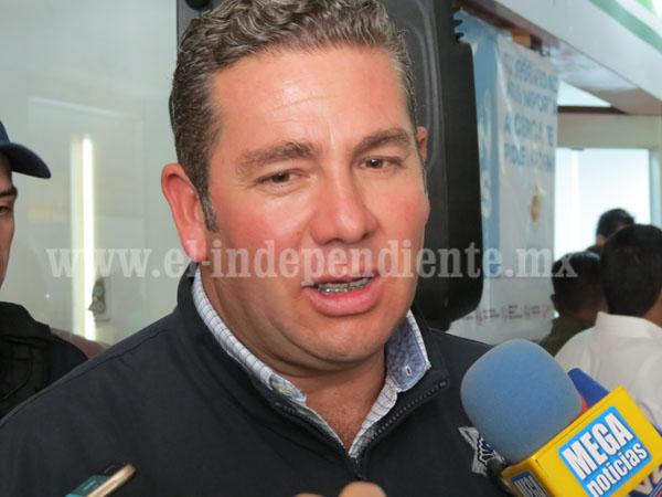 Aplicarán 20 mdp en Zamora para rubro de seguridad pública