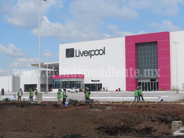 Confirman inauguración de primera etapa de plaza comercial