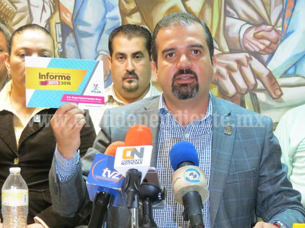 Obras y acciones hechas en Ixtlán respuesta a la población