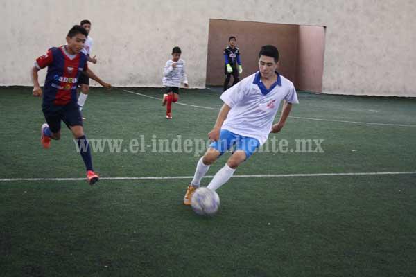Arranca próximo sábado Torneo de Fútbol Rápido en Jacona.