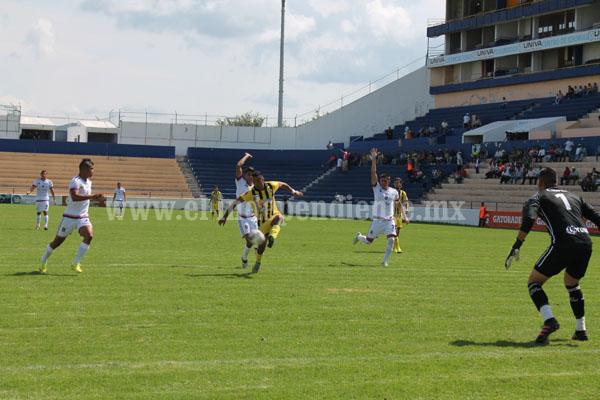 Real Zamora cayó derrotado por Tepatitlán 3-0