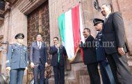 Encabeza Gobernador recorrido del Bando Solemne en Morelia