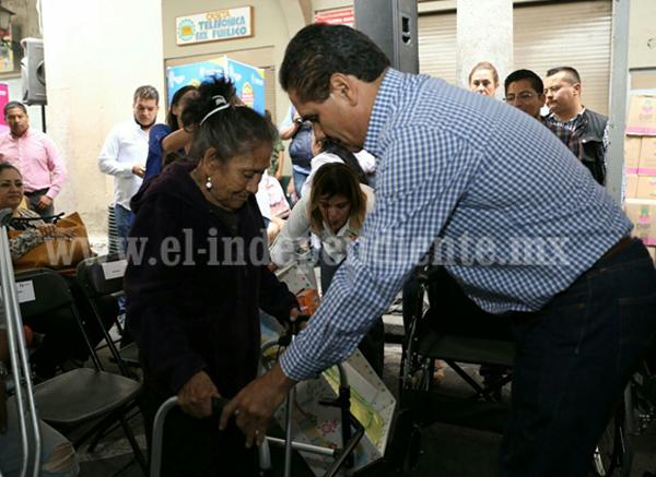 Anuncia Gobernador fortalecimiento de obra pública y salud en Sahuayo